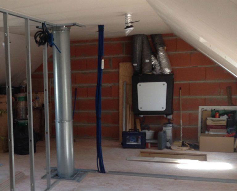Installation VMC Double flux par François CLÉMENT Électricien à Angers