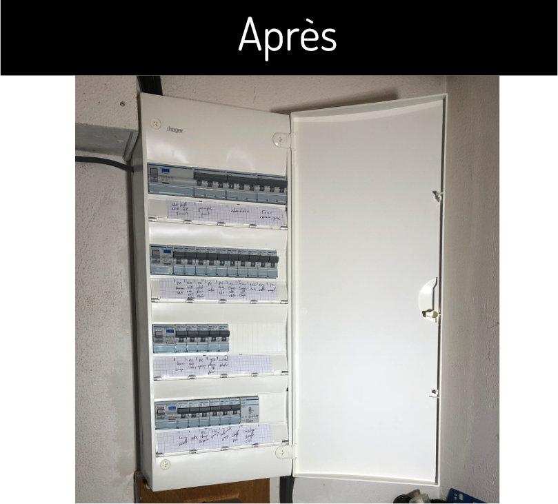 Mise aux normes du tableau électrique, Angers
