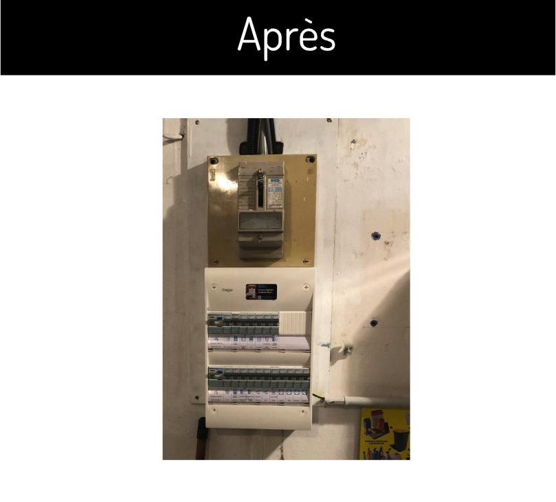 mise aux normes tableau electrique SAS Clement francois electricien angers