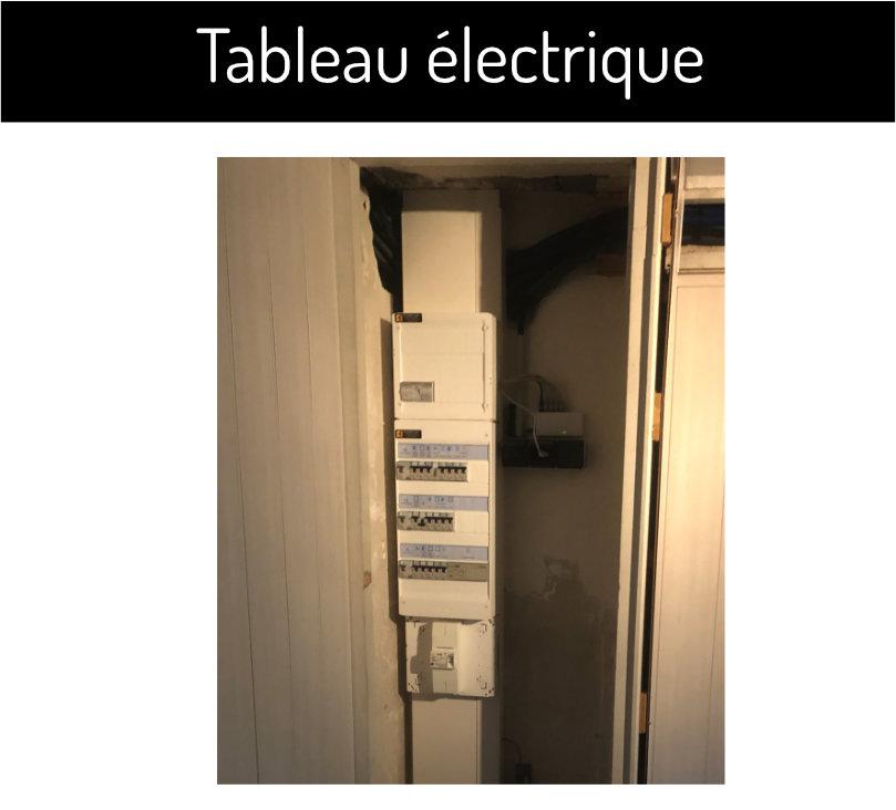 tableau electrique avec switch en renovation SAS Clement francois electricien angers